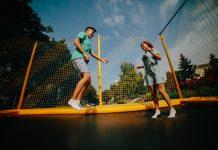 trampoliny